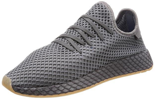 37bfd87d2dba adidas Herren Deerupt Runner Gymnastikschuhe, weiß  Amazon.de  Schuhe    Handtaschen