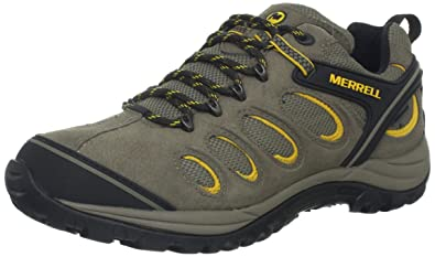 Merrell Men's Chameleon 5 Waterproof Hiking Shoe,Boulder,11.5 ...