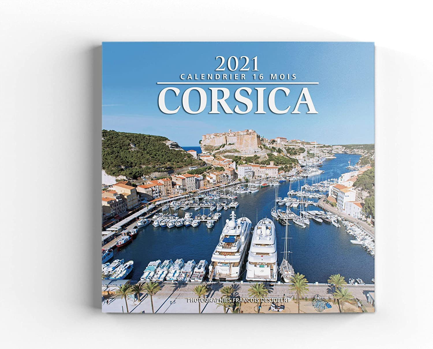 2021 Corsica Calendar : The Most Beautiful Scenery of Corsica