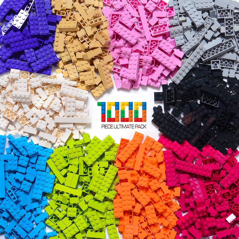 ビルディングブリック – パステルカラー – バラの積み木 1000 個 -すべての大手ブランド製ブロックと互換性あり – 提供 Exercise N Play B01IMQE6E4 Colorful-2 1000pcs, 壁紙革命賃貸でもおしゃれに 9fe4ae93