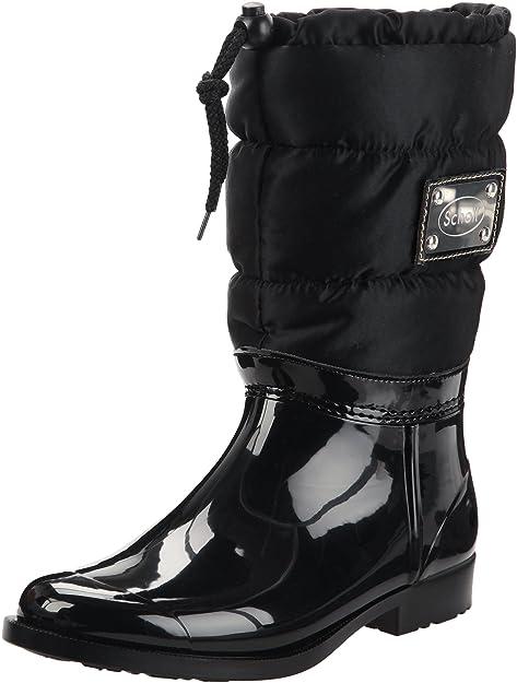 Scholl VESTMANN F246401004400 - Botines clásicos de caucho para mujer, color negro, talla 40: Amazon.es: Zapatos y complementos