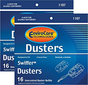 Envirocare Compatible Swiffer Unscented Dusters Refills (32 Pack)