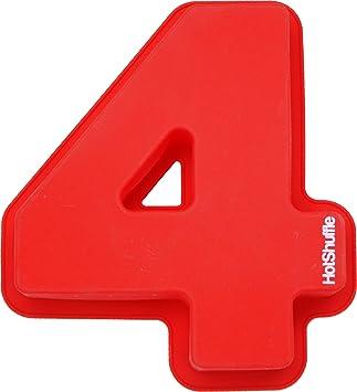 HotShuffle Gran Molde para pastel, número 0 1 2 3 4 5 6 7 8 9 aniversario cumpleaños: Amazon.es: Hogar