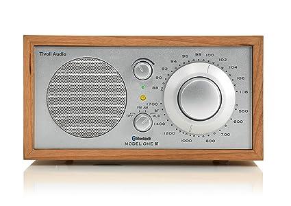 Tivoli Audio Model One BT - Am/FM Radio de Mesa con Bluetooth para transmisión