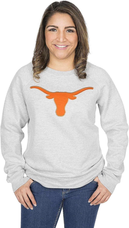 University of Texas Authentic Apparel NCAA womens Womens Crew Fleece
