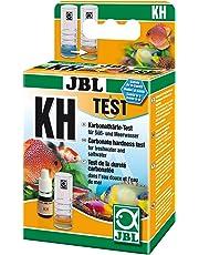 JBL KH Test-Set, Test rapide pour déterminer la dureté carbonatée dans les aquariums d'eau douce et d'eau de mer et dans les bassins, Test KH