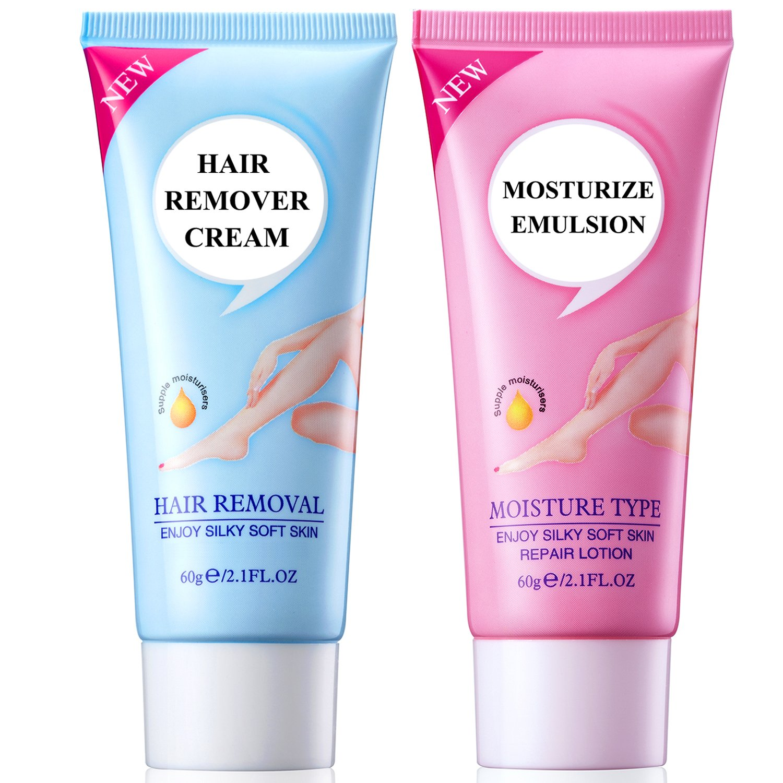 Hair Remover Cream for Legs, Bikini and Underarms (Women & Men) YYTECH