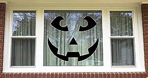 "Lplpol Funny 10"" Vinyl Sticker Halloween Jack-O-Lantern Vinyl Decal Windows Wall Cars Trucks Laptops Decal"