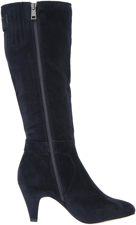Bella Vita Women's Toni Ii Harness Boot B071R4FJWY 7.5 2W US|Navy Super Suede