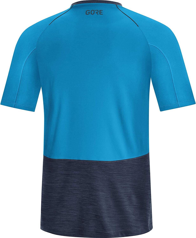 Hombre Azul Orbital//Cian din/ámico GORE WEAR R5 Camiseta L