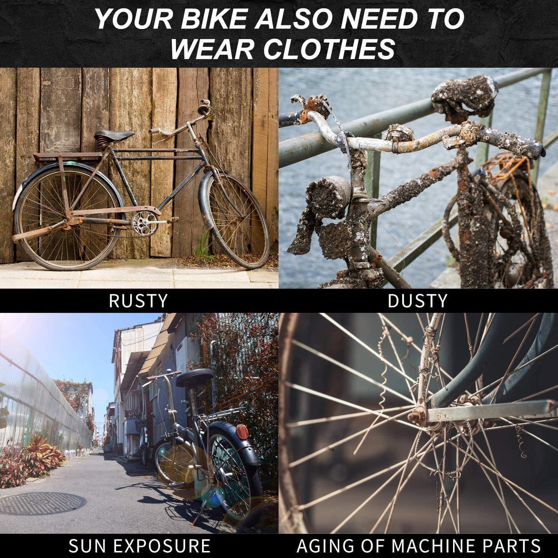 Fazeer Bike Cover for Outside Storage Waterproof Ocean Mountain Bike Covers Inside Dust Cover