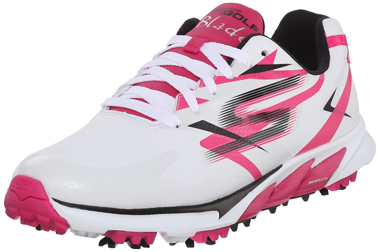 Skechers Performance Women's Go Golf Blade Golf Shoe B013KJDENW 8 B(M) US|White/Pink