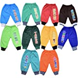 10 Colorful Warm Toon-Design Baby Boys and Girls Pajamas Pants (6-12 Months (S))