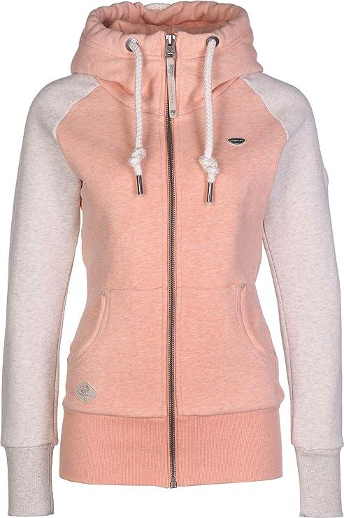 Ragwear Neska Twotone W Felpa con Zip: Amazon.it: Abbigliamento