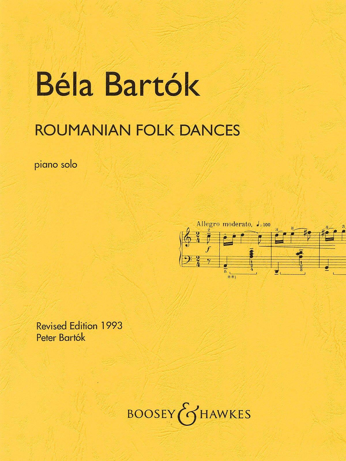 Bartók: Romanian Folk Dances (Solo Piano)
