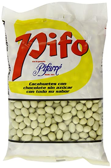Pifarre No Added Sugar White Chocolate Peanuts 1 Kg