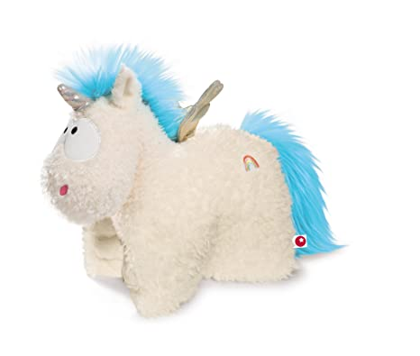 NICI 40741.0Ã'Â Plush Cuddly Toy Cushion Unicorn Rainbow With Wings,, 40Ã