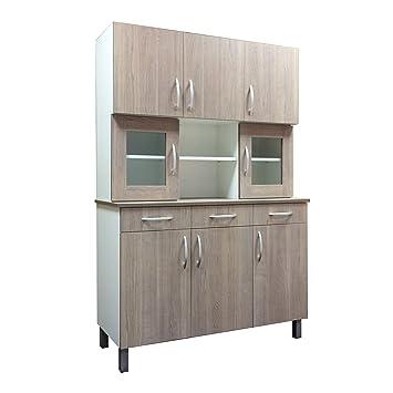 Carpintería Barús. Mueble de Cocina Modelo Chinero Clásico. Mueble ...