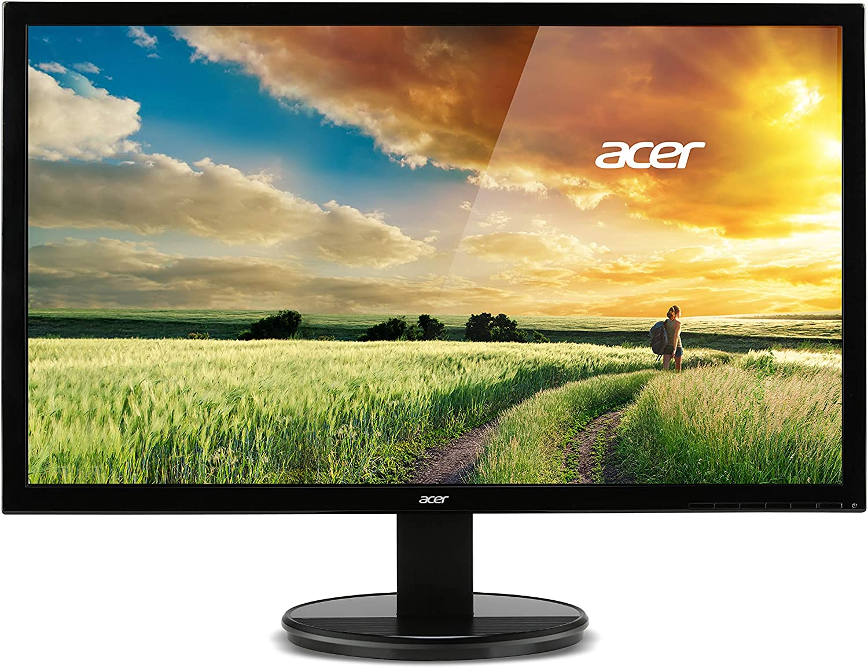 "Acer K242HL Dbid 24"" Black 1ms Response Time LED Monitor 1920 x 1080 Widescreen 16:9 250 cd/m2 1000:1 VGA, DVI, HDMI Model UM.FX2AA.D01"