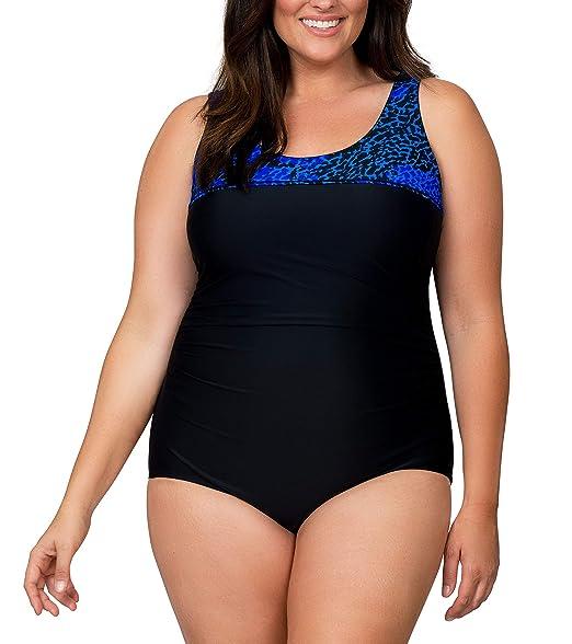 Amazon.com: Trajes de baño para mujer de la marca Caribbean ...