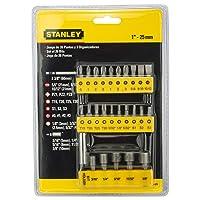 Stanley Insert Bit Chome-Vanadium Screwdriver Set (26-Pieces)