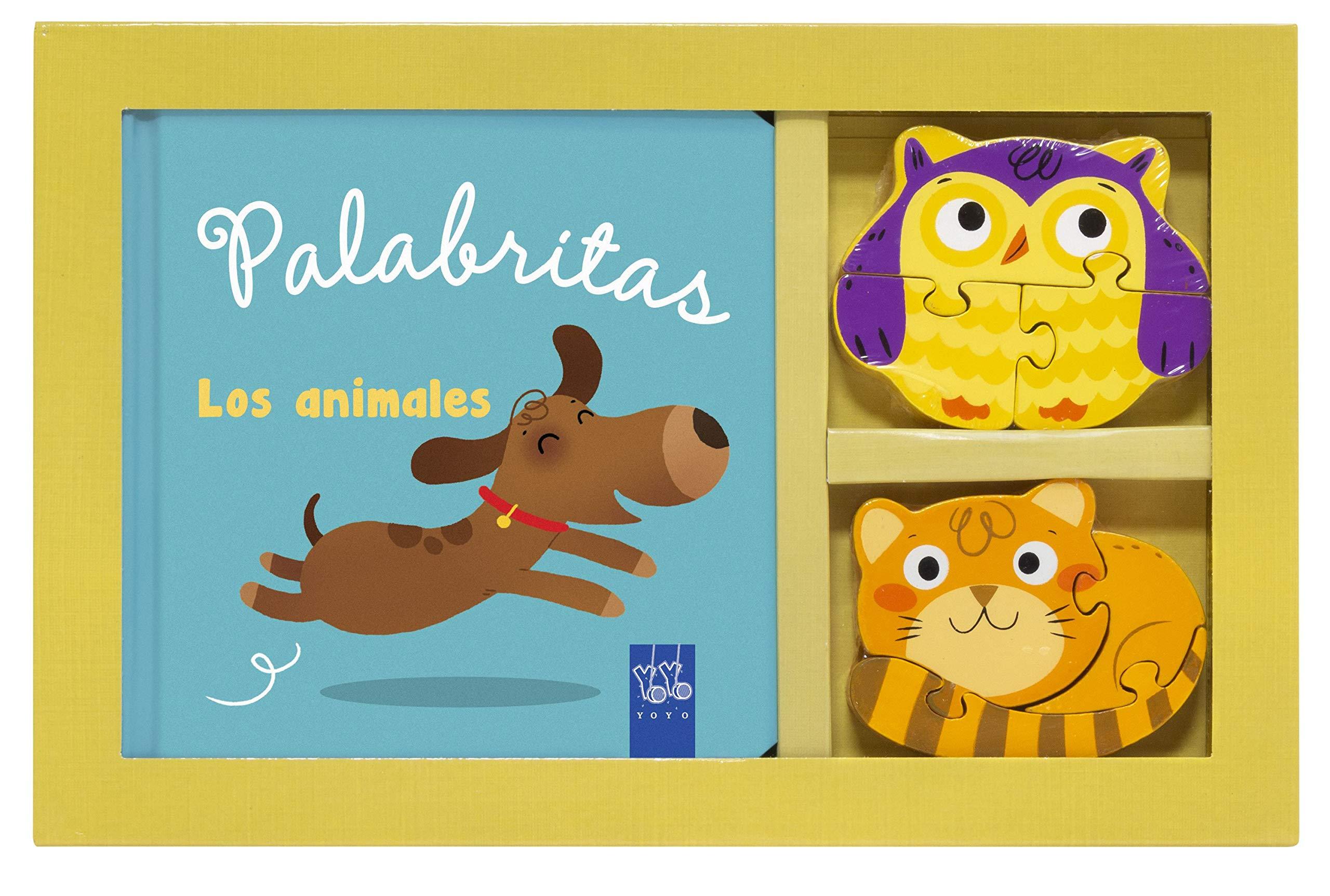 Los animales: Mi caja de palabras (Palabritas): Amazon.es: YOYO ...