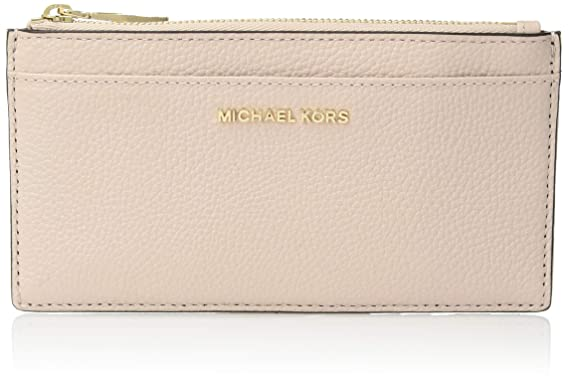 9474a793b5dea8 MICHAEL by Michael Kors Money Pieces Soft Pink Leather Slim Card Case one  size Soft Pink