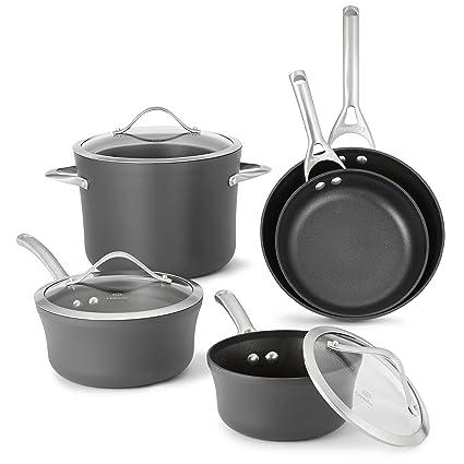 67b7d746bdf Amazon.com  Calphalon 1876784 Contemporary Hard-Anodized Aluminum Nonstick  Cookware