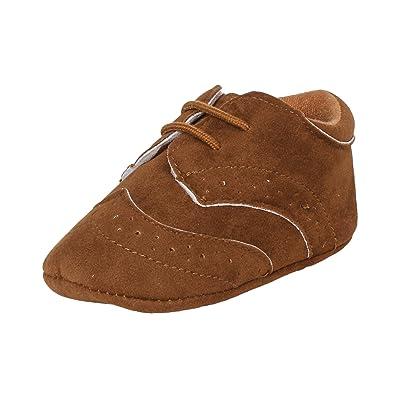 Abdc Kids Infant Boys Brown Shoes Length 12 Cm Age 3 6