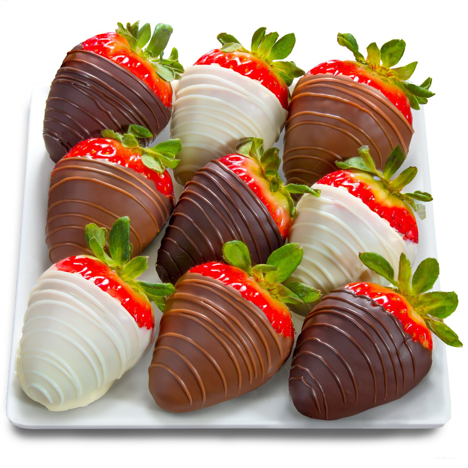 Amazon.com : Golden State Fruit 9 Piece Chocolate Covered ...