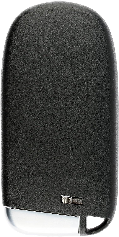 KeylessOption Keyless Entry Remote Start Smart Car Key Fob for 2014-2019 Jeep Cherokee GQ4-54T