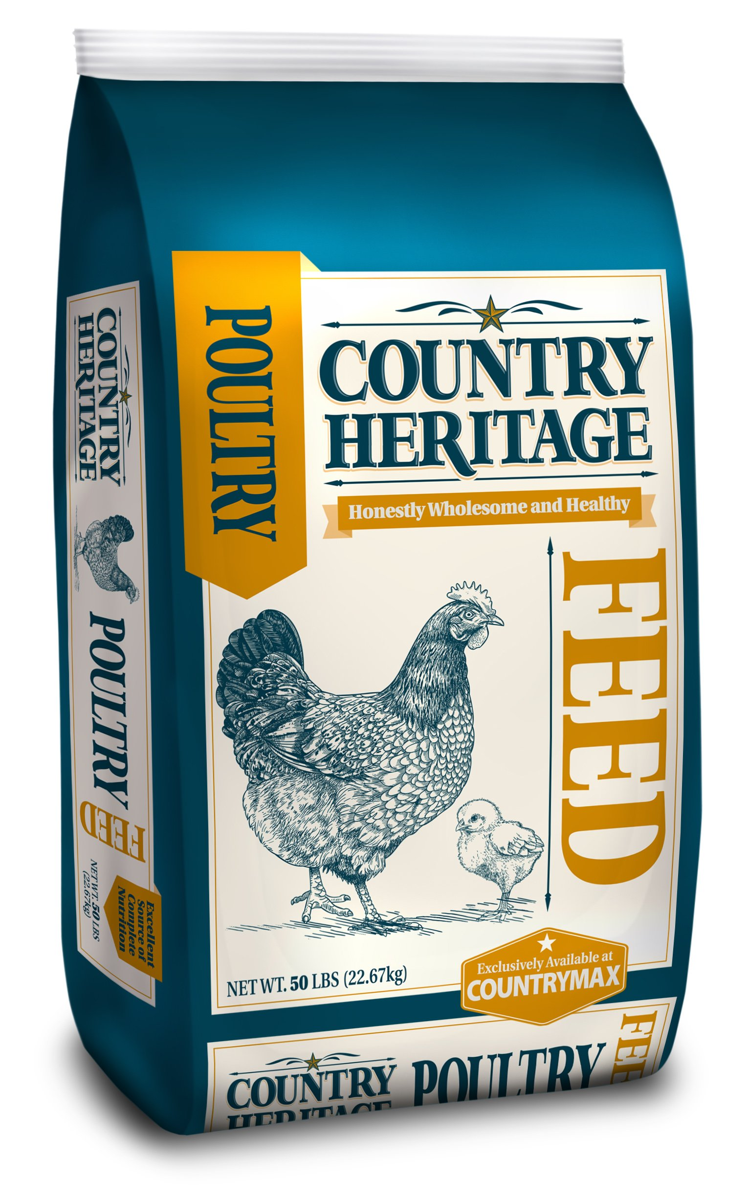 Country Heritage Chick Starter/Grower Crumbled Feed 50 Pounds by Country Heritage