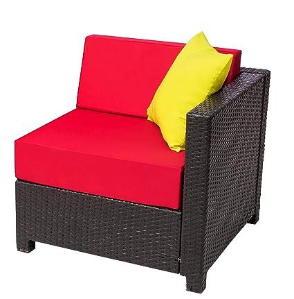 Amazon Com Mcombo Diy Deluxe Outdoor Garden Patio Wicker Couch
