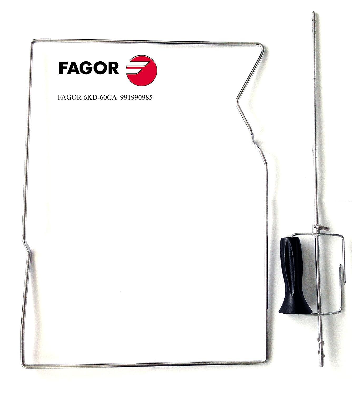 Pincho giratorio para FAGOR Hornos Modelos 6 KD de 60ca: Amazon.es: Hogar