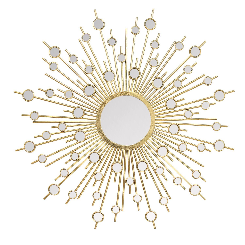 Stratton Home Decor -- Dropship, us home, SUHQX S01022 Stratton Home Decor Pia Wall Mirror Gold