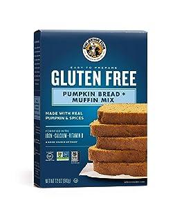 King Arthur Flour, Pumpkin Bread + Muffin Mix, Gluten Free, 12 Ounce