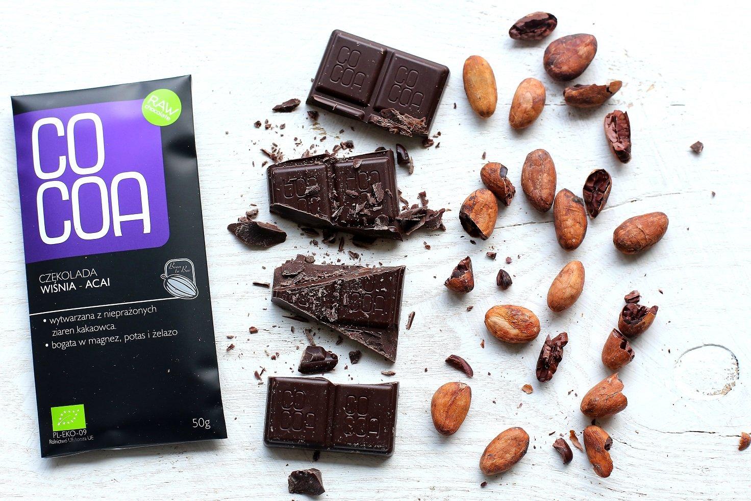 Cocoa - Barra Chocolate negro Bio Açai cereza: Amazon.es: Salud y cuidado personal