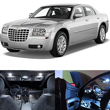 White Chrysler 300 >> Led White Lights Interior Package Kit For Chrysler 300 300c 2005 2010 12 Pcs