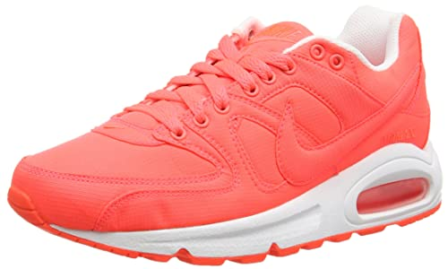 1545bec476 Nike Women's Air Max Command Txt Running Shoe Orange Size: 5 UK ...