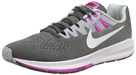 Nike PerformanceAIR ZOOM STRUCTURE 21 - Stabilty running shoes - black/white/wolf grey/cool grey/dark grey qyEd1Fe