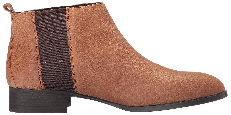 Nine B01J6SJU3Y West Women's Nolynn Leather Ankle Bootie B01J6SJU3Y Nine 10 B(M) US|Cognac/Dark Brown ec081a