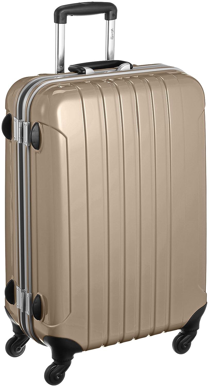 [マンハッタンエクスプレス] MANHATTAN EXP. スーツケース フレームタイプ 鏡面加工 フーク 63L 70cm  ゴールド B012ZBFUDI