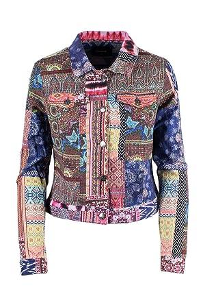 Desigual Jacke Damen Chaq Kiona 19SWEW96 38 (s) pink: Amazon