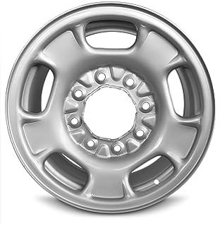amazon 17 inch 2011 2012 2013 2014 2015 2016 2017 2018 gmc 2015 Silverado Wheel new sierra 2500 3500 silverado 2500 3500 17 inch 8 lug steel rim 17x7