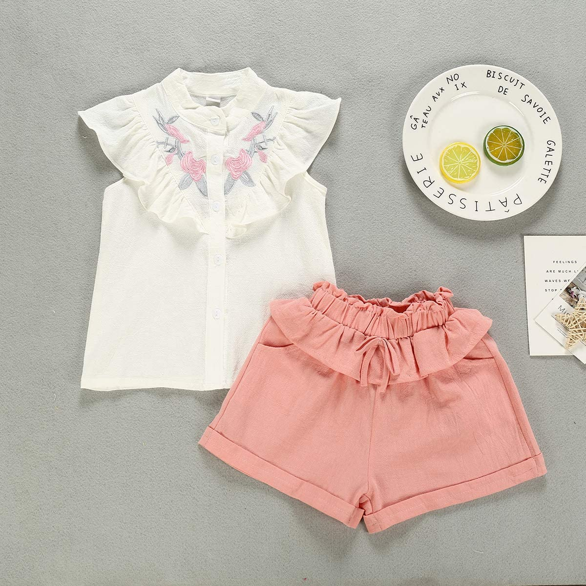Sequins Shorts Outfit Set with Headband Toddler Kid Baby Girl Summer Princess Letter Print Tank Tops
