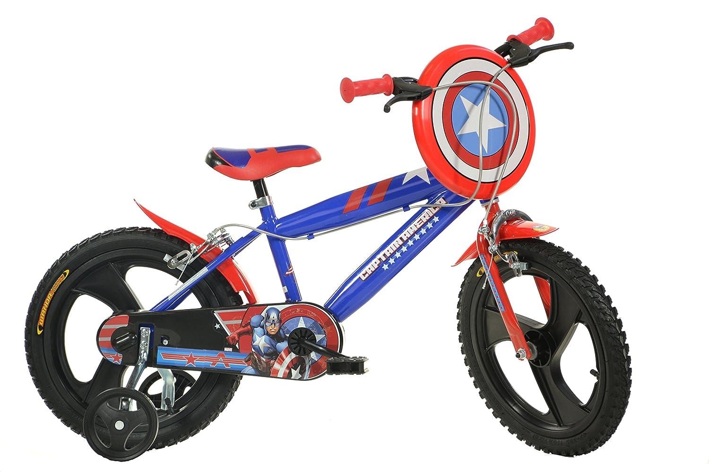Dino Bikes 416u-ca 40,6 cm Captain America Fahrrad