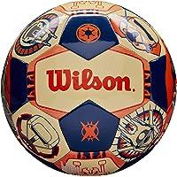 WILSON Sporting Goods Star Wars Han Solo & Chewbacca Tamaño Balón de fútbol: Co-Pilot Star Wars Han Solo & Chewbacca Balón de fútbol: Co-Pilot, Multi, 4
