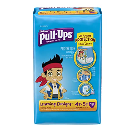 Amazon.com: Pull-Ups Training Pants for Boys, Size 4T-5T, 18 Count (Packaging May Vary): Health & Personal Care