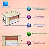 Ziz Home Blankets Clothes Storage Bag Breathable