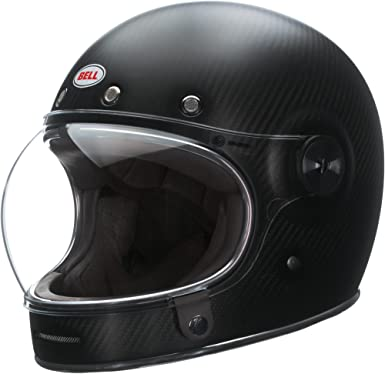 Bell Bullitt Carbon Matte Black Motorcycle Helmet Size Small